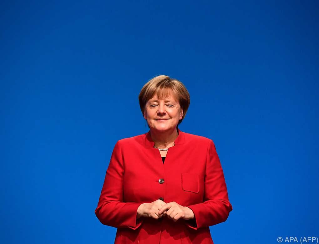 Dämpfer für Merkel bei Wiederwahl zur CDU-Vorsitzenden