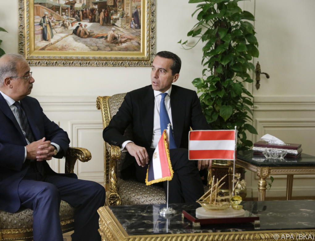 Bundeskanzler Kern besucht Vereinigte Arabische Emirate