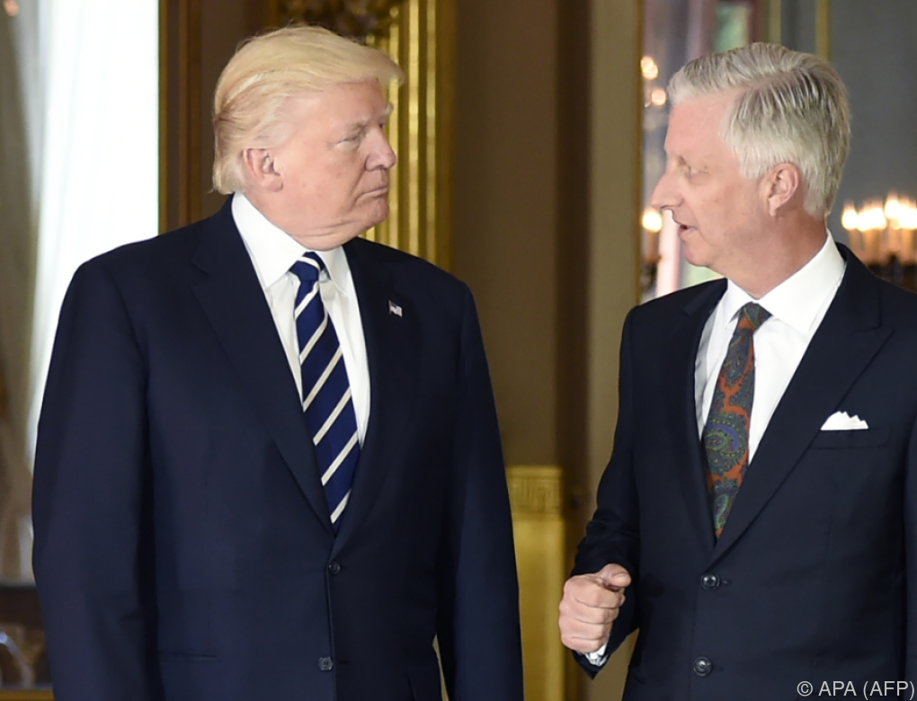 Trumps Debüt bei der NATO: Spitzentreffen in Brüssel