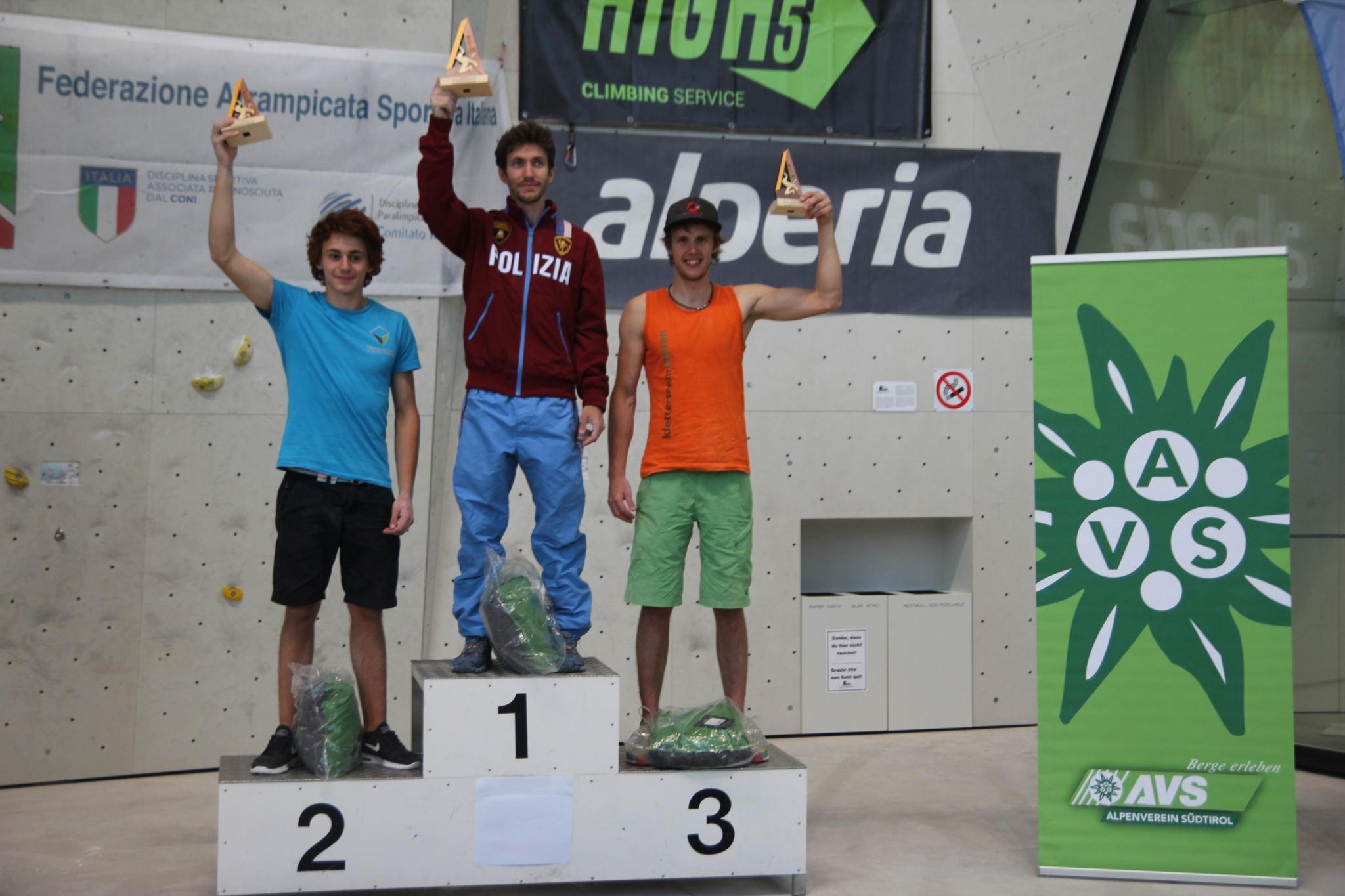 Südtiroler Sportkletterer überzeugen beim Italiencup in Bruneck