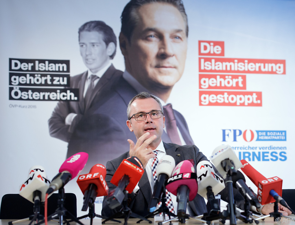 """FPÖ-Programm setzt auf """"Fairness"""" und direkte Demokratie"""