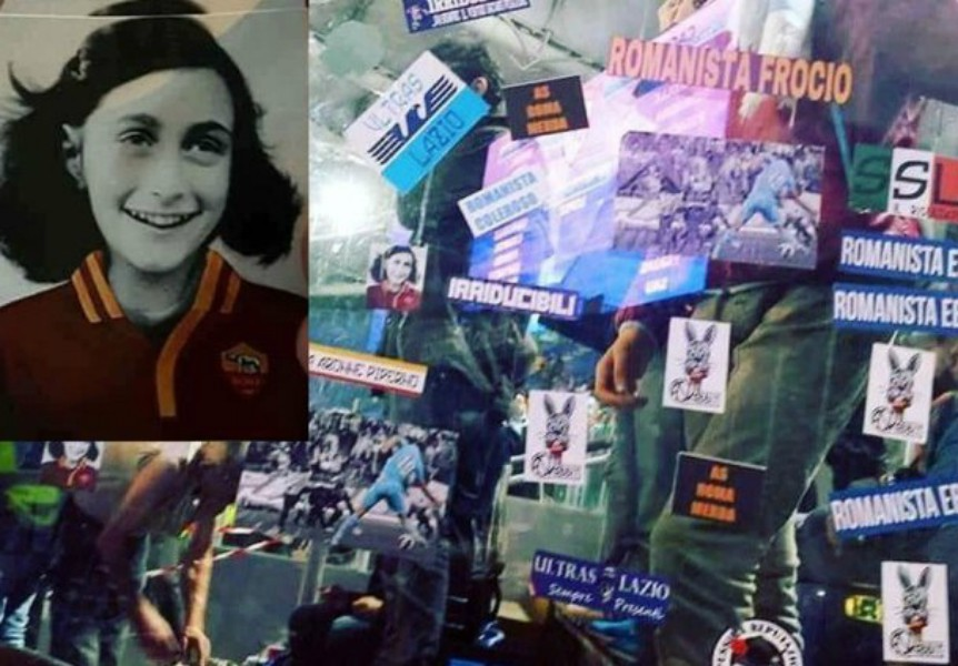 Skandal um Lazio-Fans - Anne Frank im Roma-Trikot!