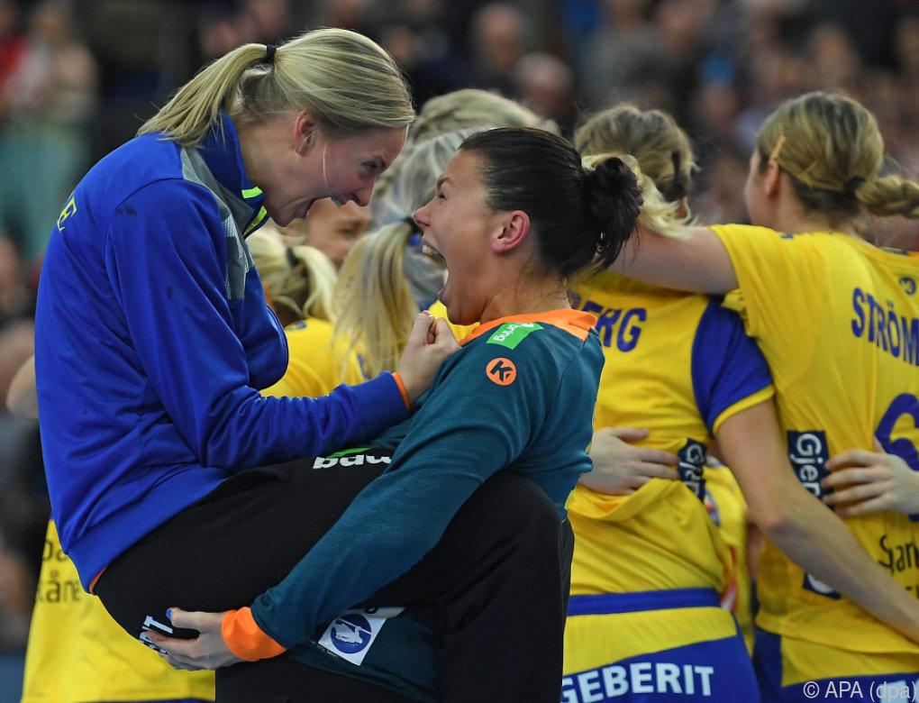 Frankreich und Schweden im WM-Halbfinale der Handballerinnen