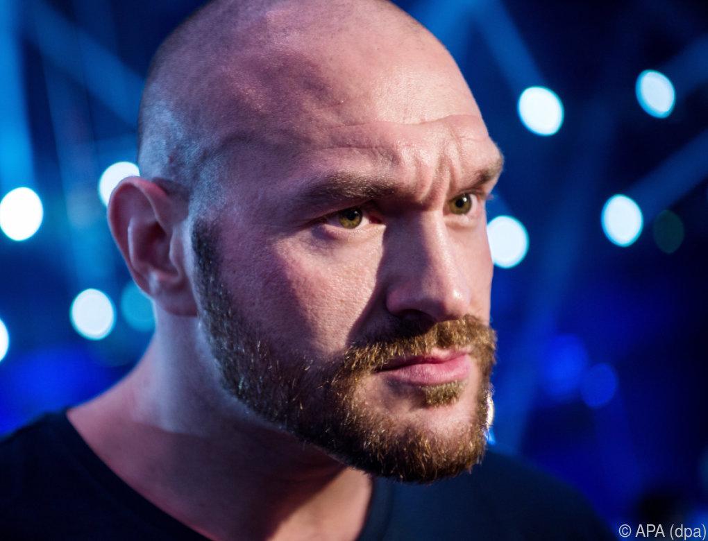 Boxer Tyson Fury akzeptierte rückdatierte Dopingsperre