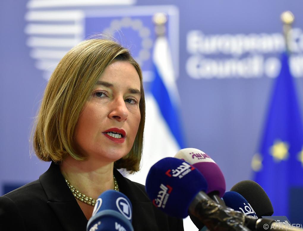 EU bemüht sich um neue Nahost-Verhandlungen
