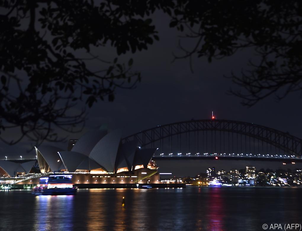 """Klimaschutzaktion """"Earth Hour"""" startete in Sydney"""