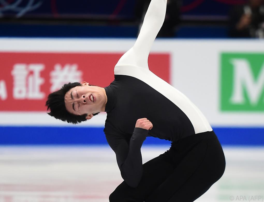 Nathan Chen holte sich überlegen Eiskunstlauf-WM-Gold