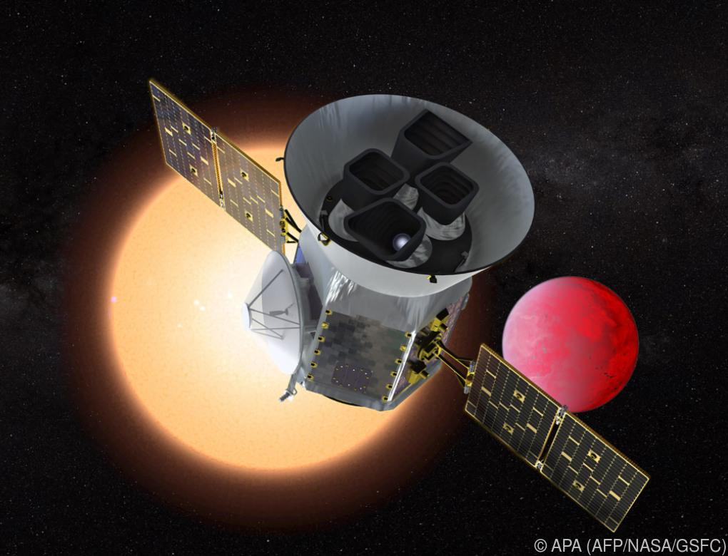 Planetenjäger TESS startet