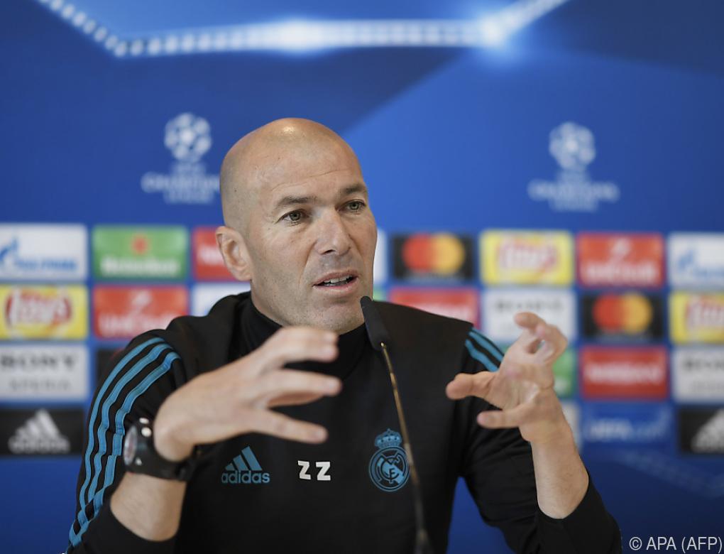 """Zidane lobt vor Champions-League-Finale Klopp: """"Respekt!"""""""