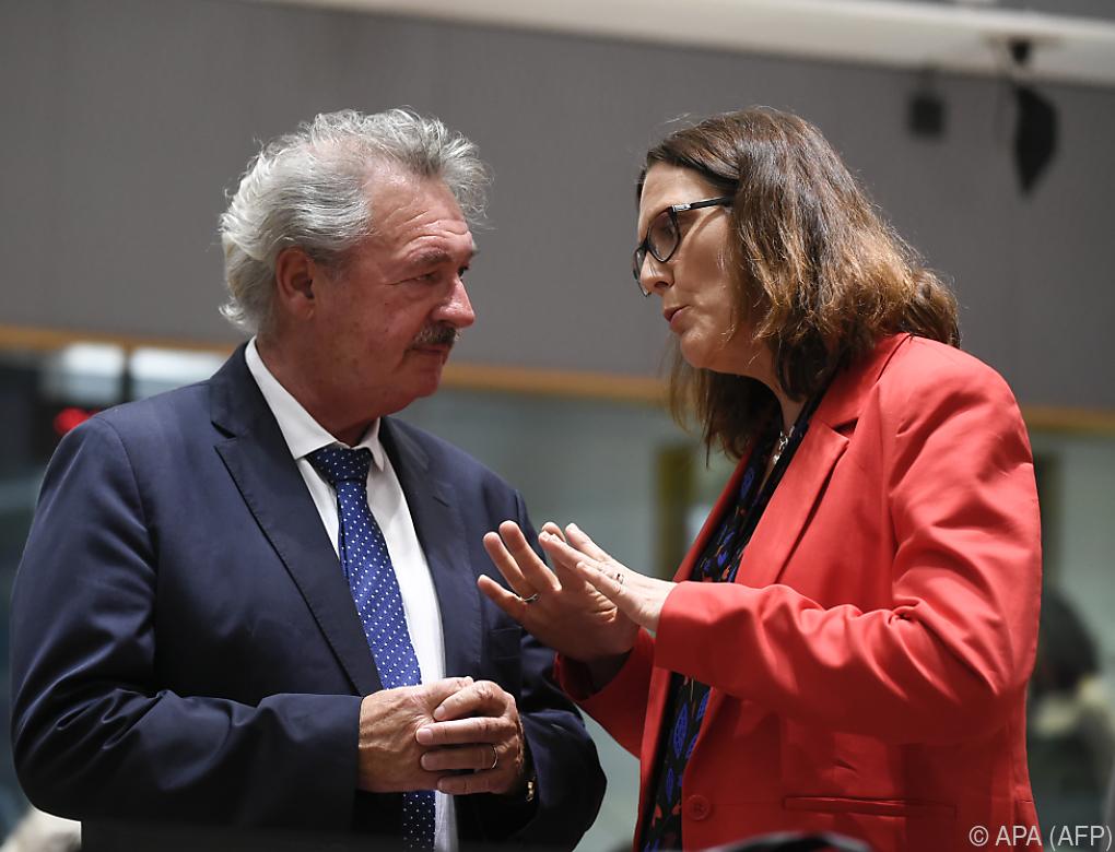 EU debattiert Vorgehen im Falle von US-Strafzöllen