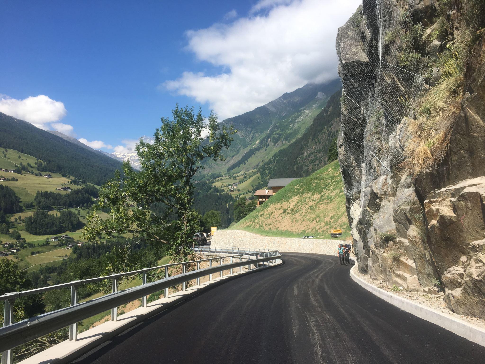 Ausgebauter Straßenabschnitt in Stuls nun befahrbar