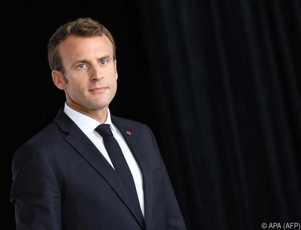 """Macron nennt Nationalismus in Europa die neue """"Lepra"""""""