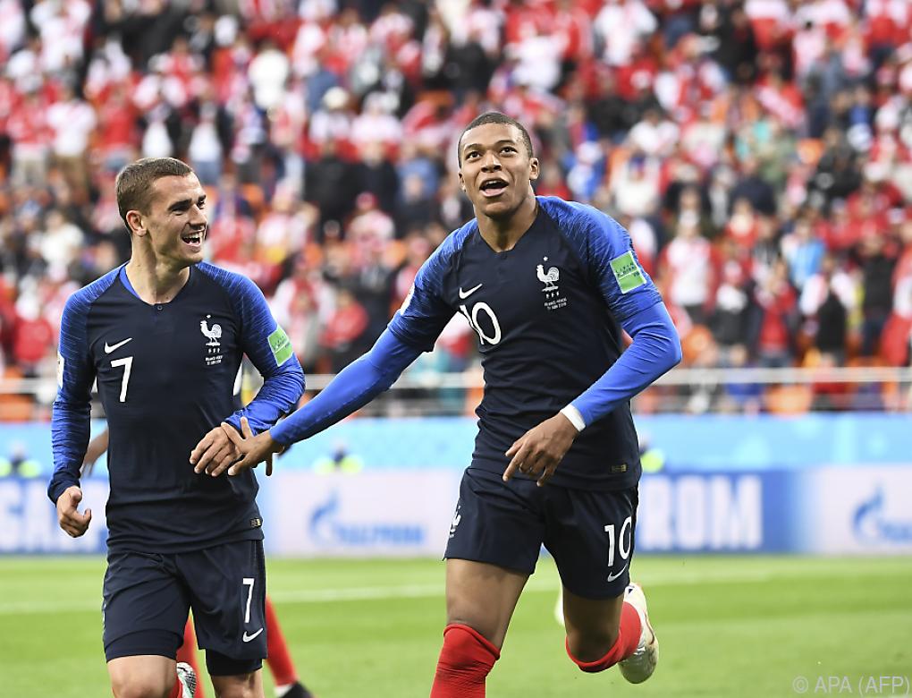 Frankreich nach 1:0-Sieg über Peru im WM-Achtelfinale