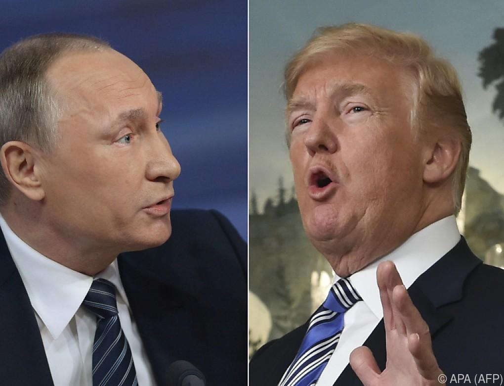 Trump und Putin planen angeblich Treffen im Juli
