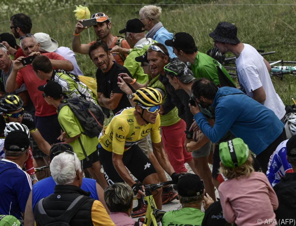 Van Avermaet behielt Tour-Gesamtführung auf 1. Alpenetappe