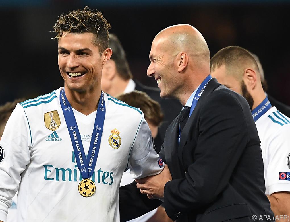 Zidane soll als Juve-Sportdirektor im Gespräch sein
