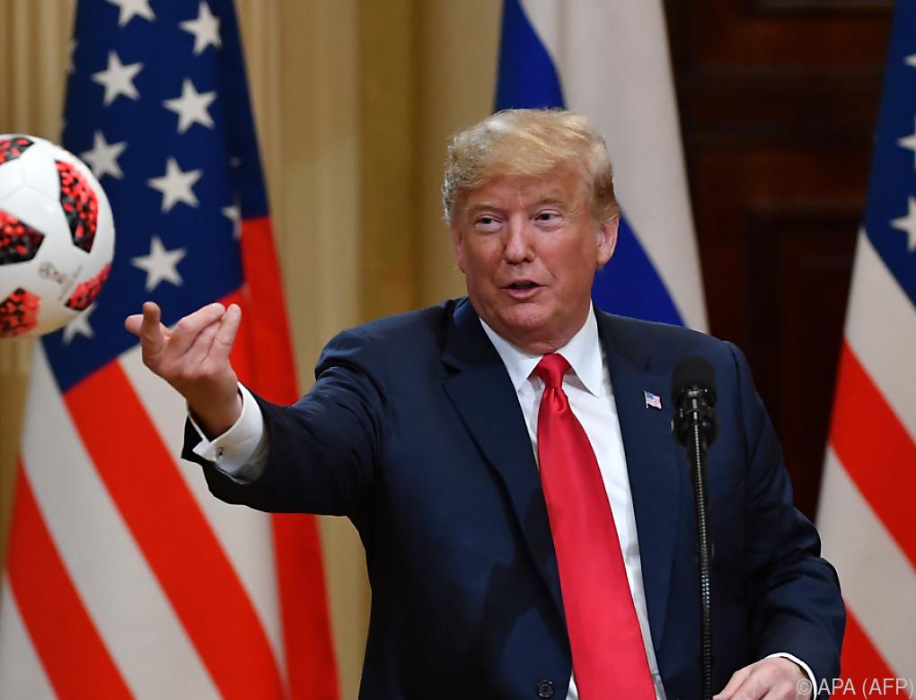 Trump bleibt wegen Putin-Gipfel unter Druck
