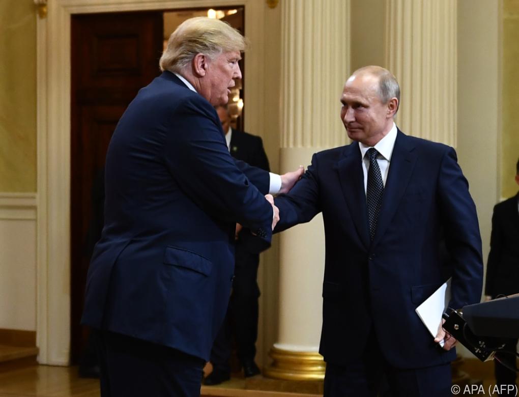 Trump schwärmt trotz Kritik vom Zusammentreffen mit Putin