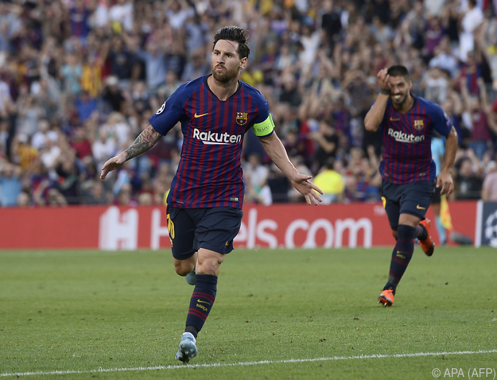 Messi-Gala bei Barca-Sieg, Liverpool besiegte PSG 3:2
