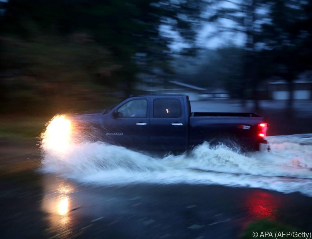 """Hurrikan """"Florence"""" trifft mit voller Wucht auf Land"""
