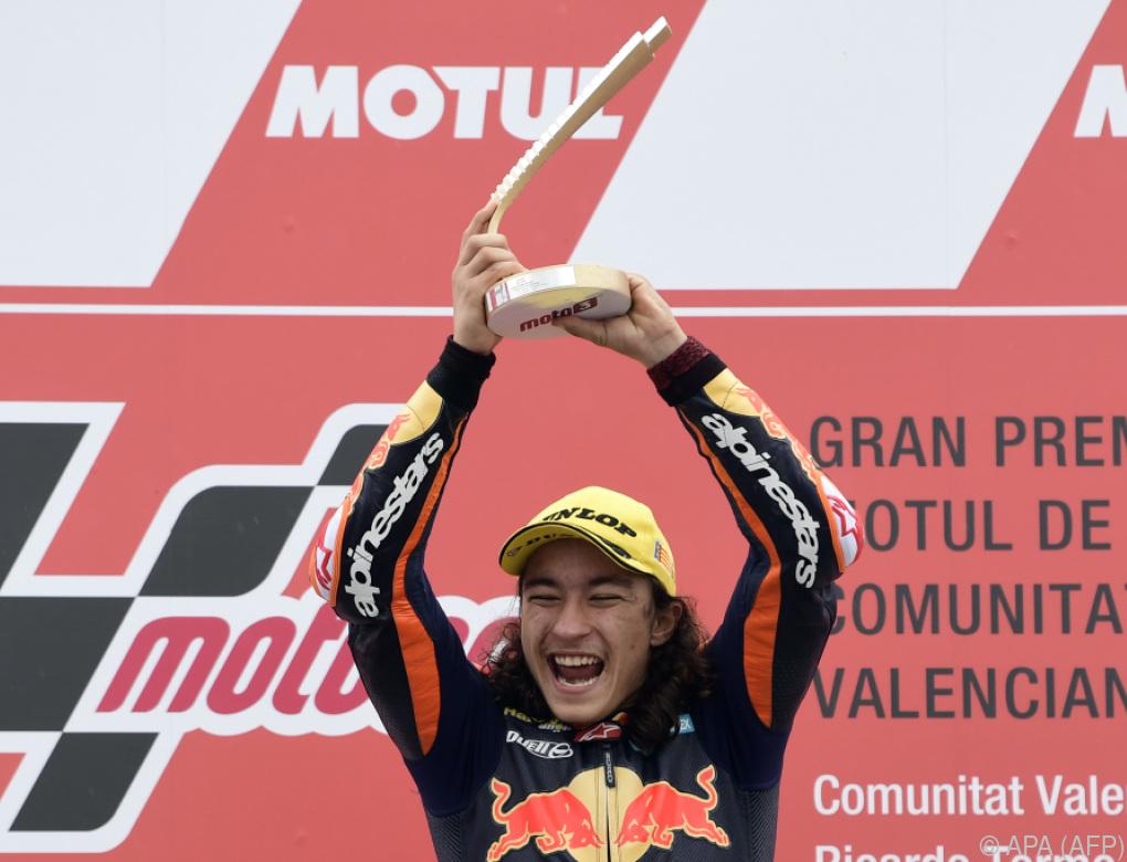 15-jähriger Sieger Öncü überraschte in Moto3