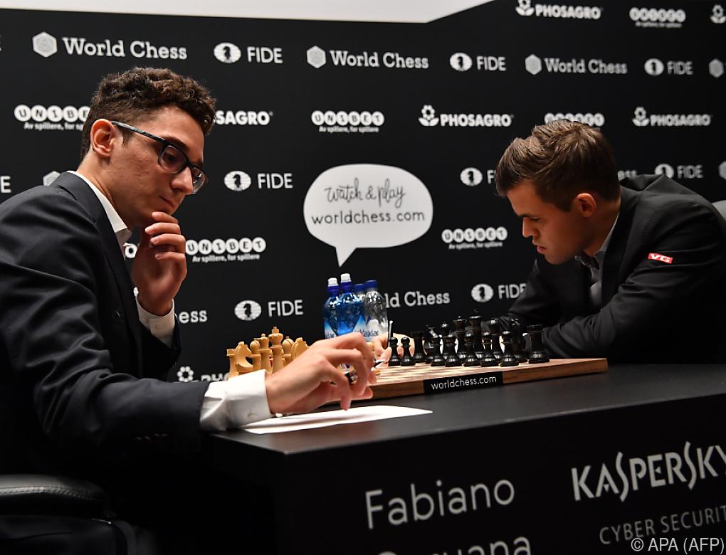 Auch 3. Partie der Schach-WM endet mit Remis
