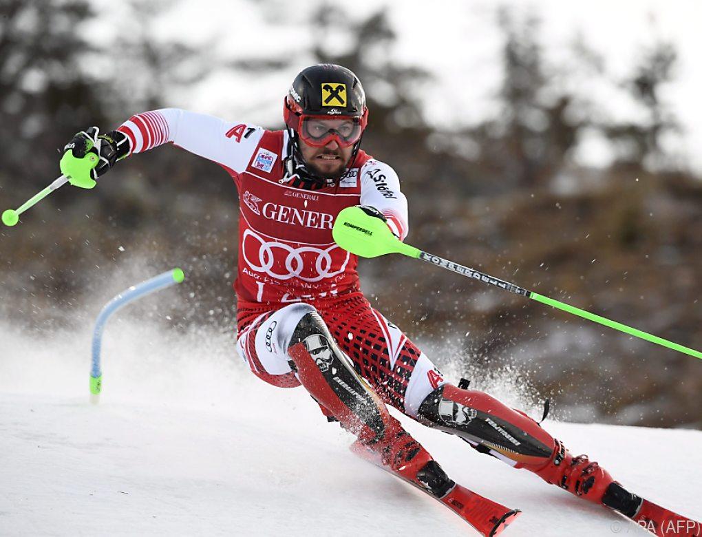 Hirscher führt in Levi-Slalom vor Kristoffersen