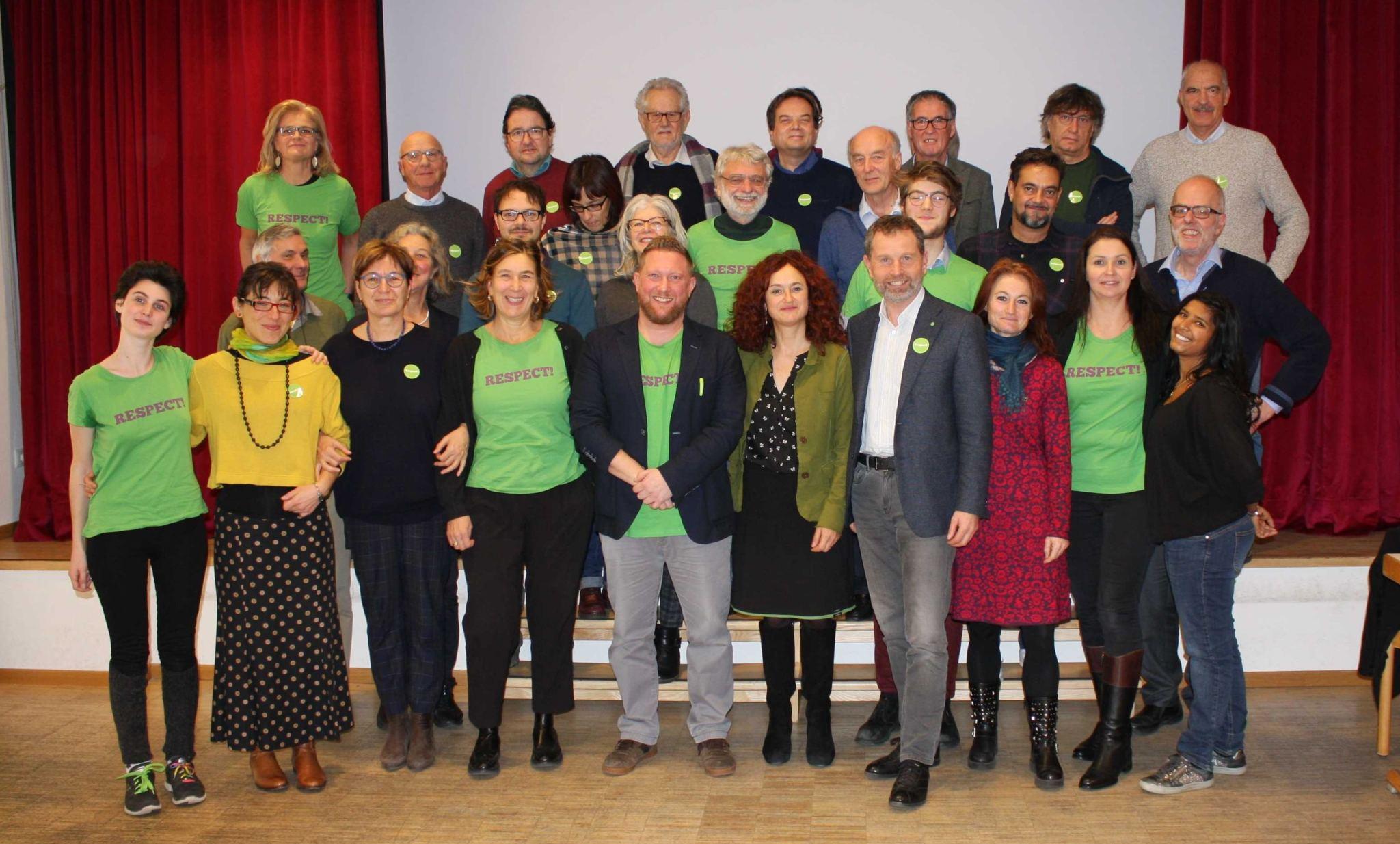 Grüne zielen auf die Europawahlen