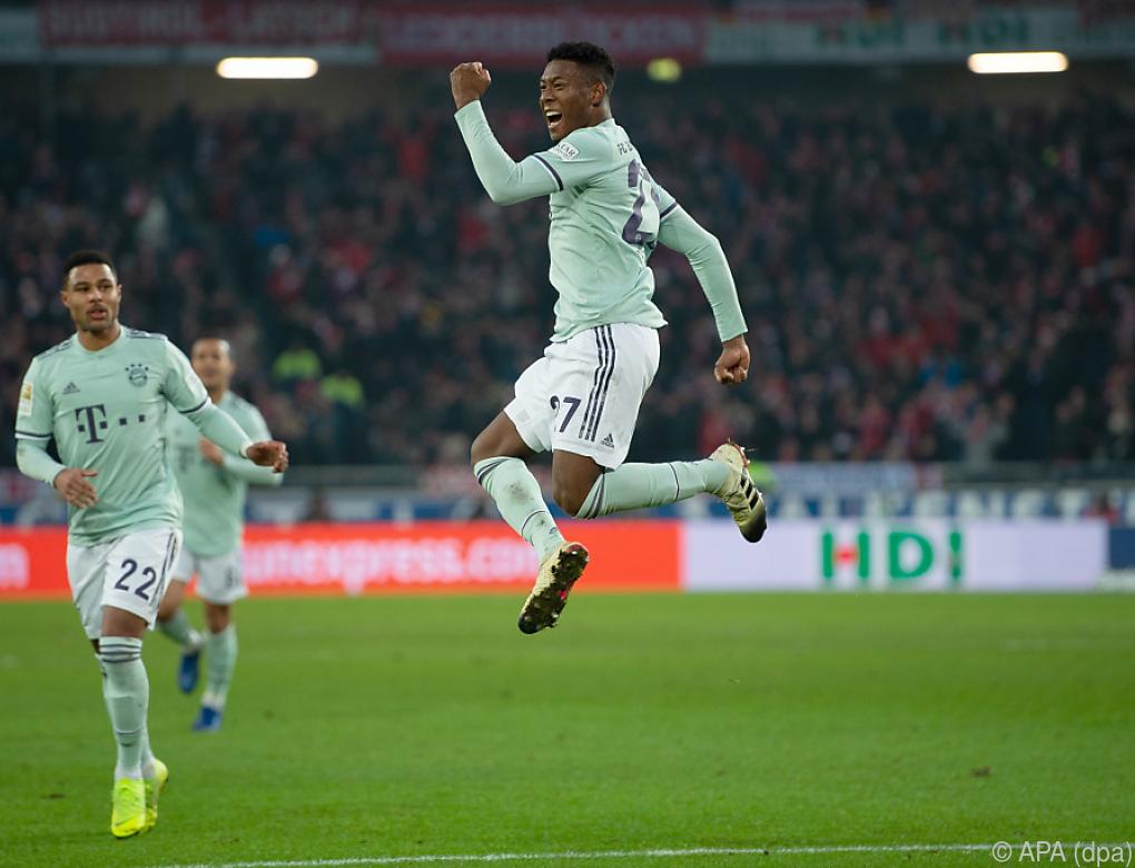 Alaba und Gregoritsch trafen in der deutschen Bundesliga