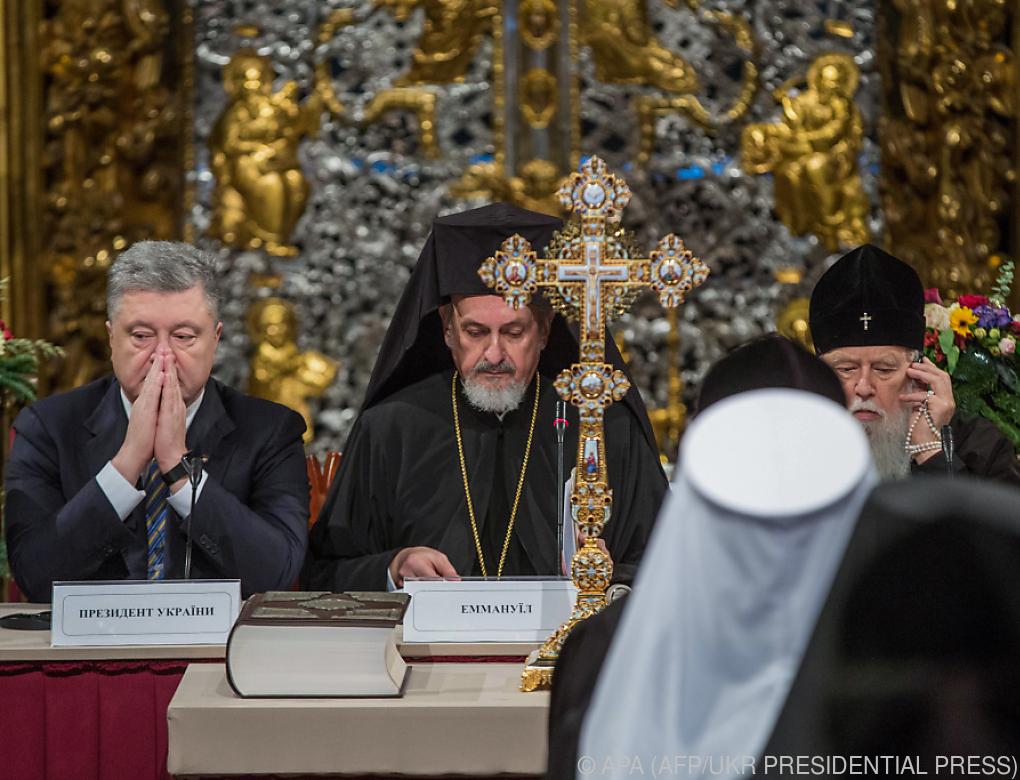 Eigene orthodoxe Nationalkirche in Ukraine gegründet