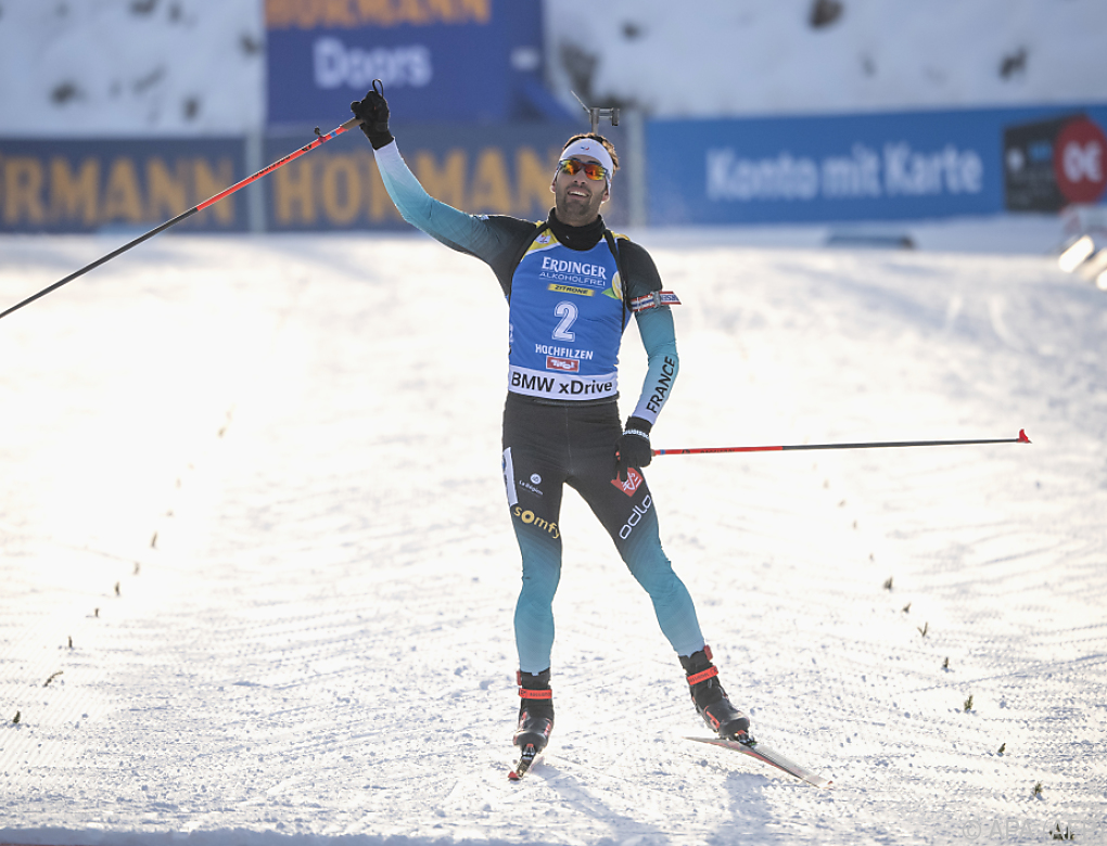 Biathlon: Fourcade gewinnt Verfolgung in Hochfilzen – Lukas Hofer Fünfter