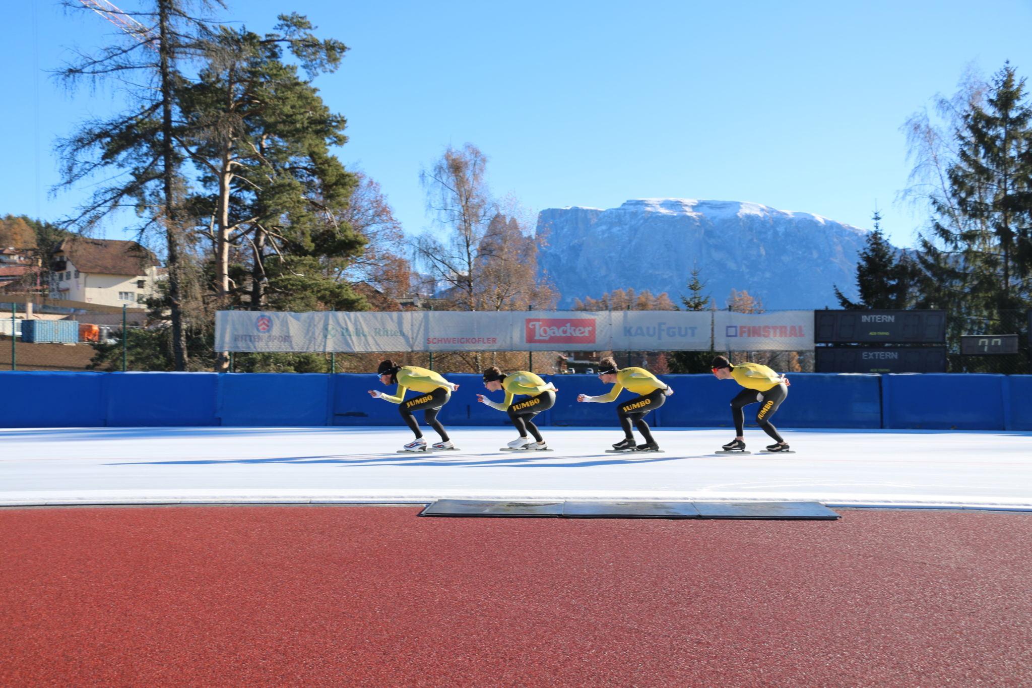 Eisschnelllauf: Top-Stars nutzen die optimalen Bedingungen