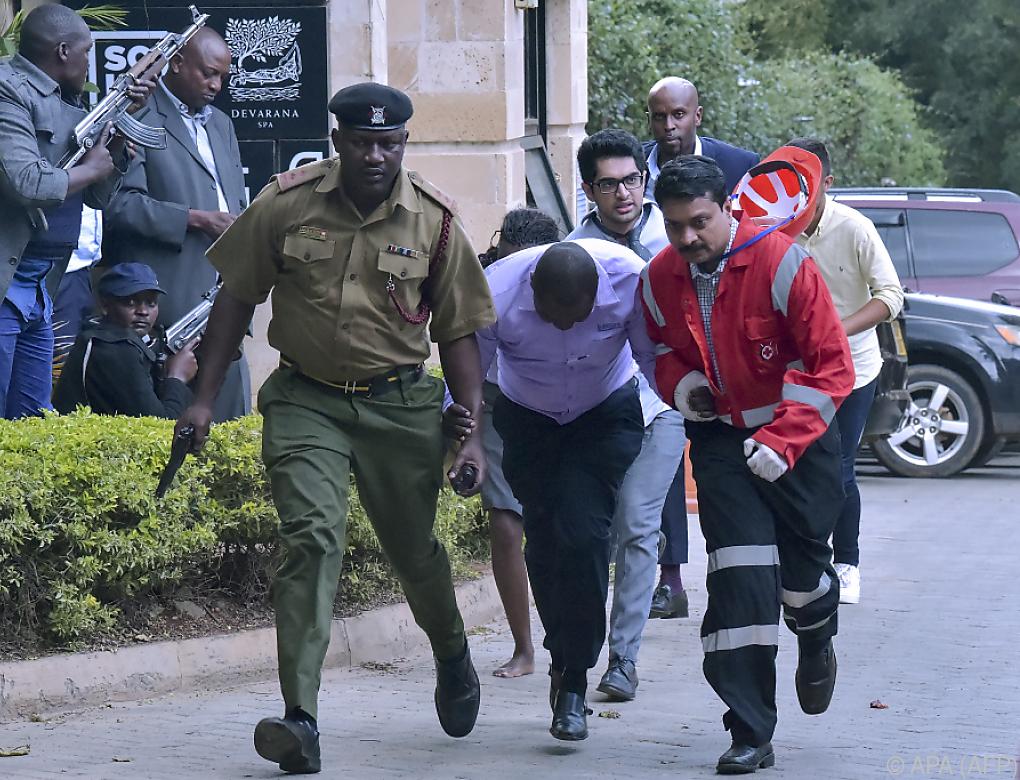 Blutiger Angriff auf Hotel in Nairobi mit 21 Toten