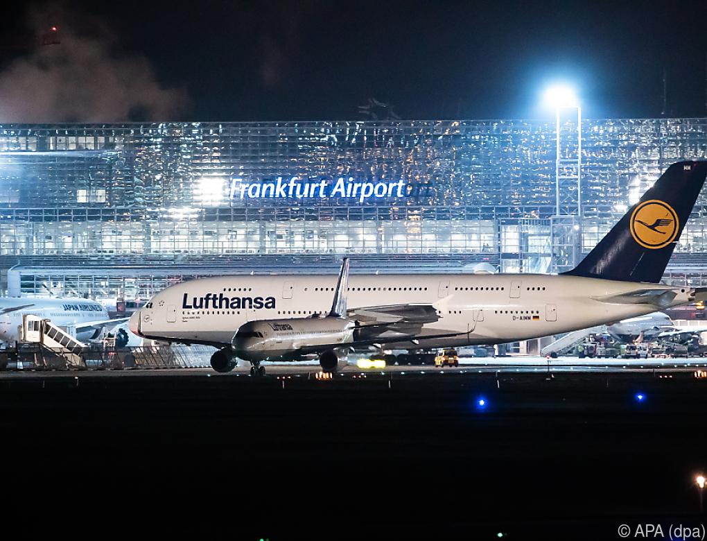 Flughafen Frankfurt wird am Dienstag bestreikt
