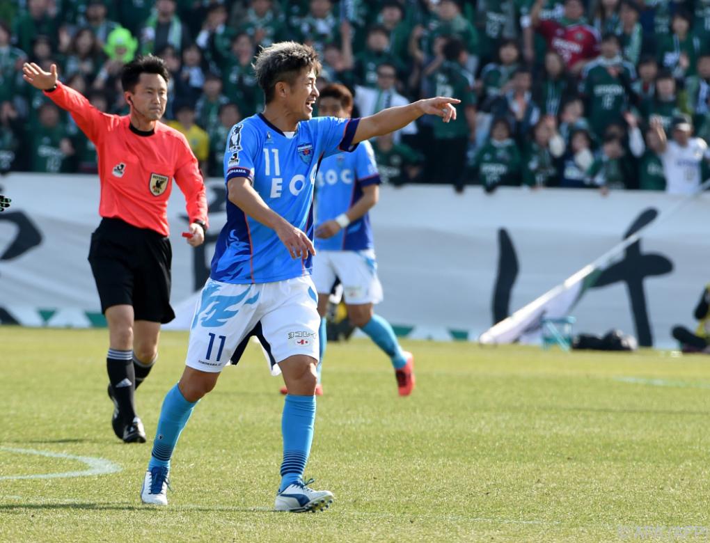 Yokohama-Stürmer Miura hat mit 52 Jahren noch nicht genug