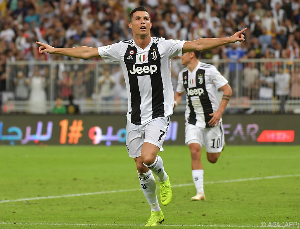 Ronaldo schoss Juventus zu Supercup-Sieg gegen Milan