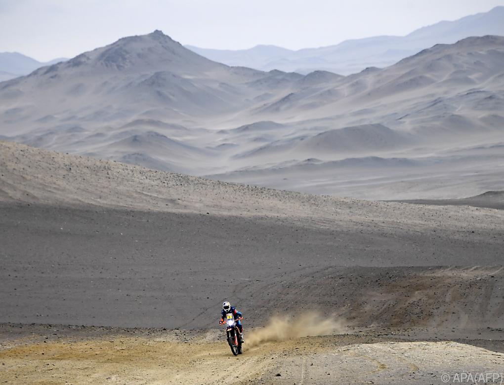 Walkner vor letzter Dakar-Etappe Gesamtdritter