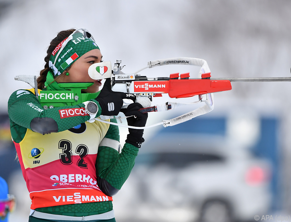 Dorothea Wierer sichert sich die kleine Kugel