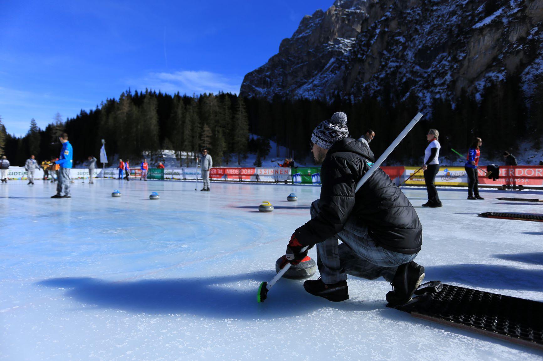 8. Südtirol Curling Cup 2019 – Int. Open Air Tournament am Pragser Wildsee