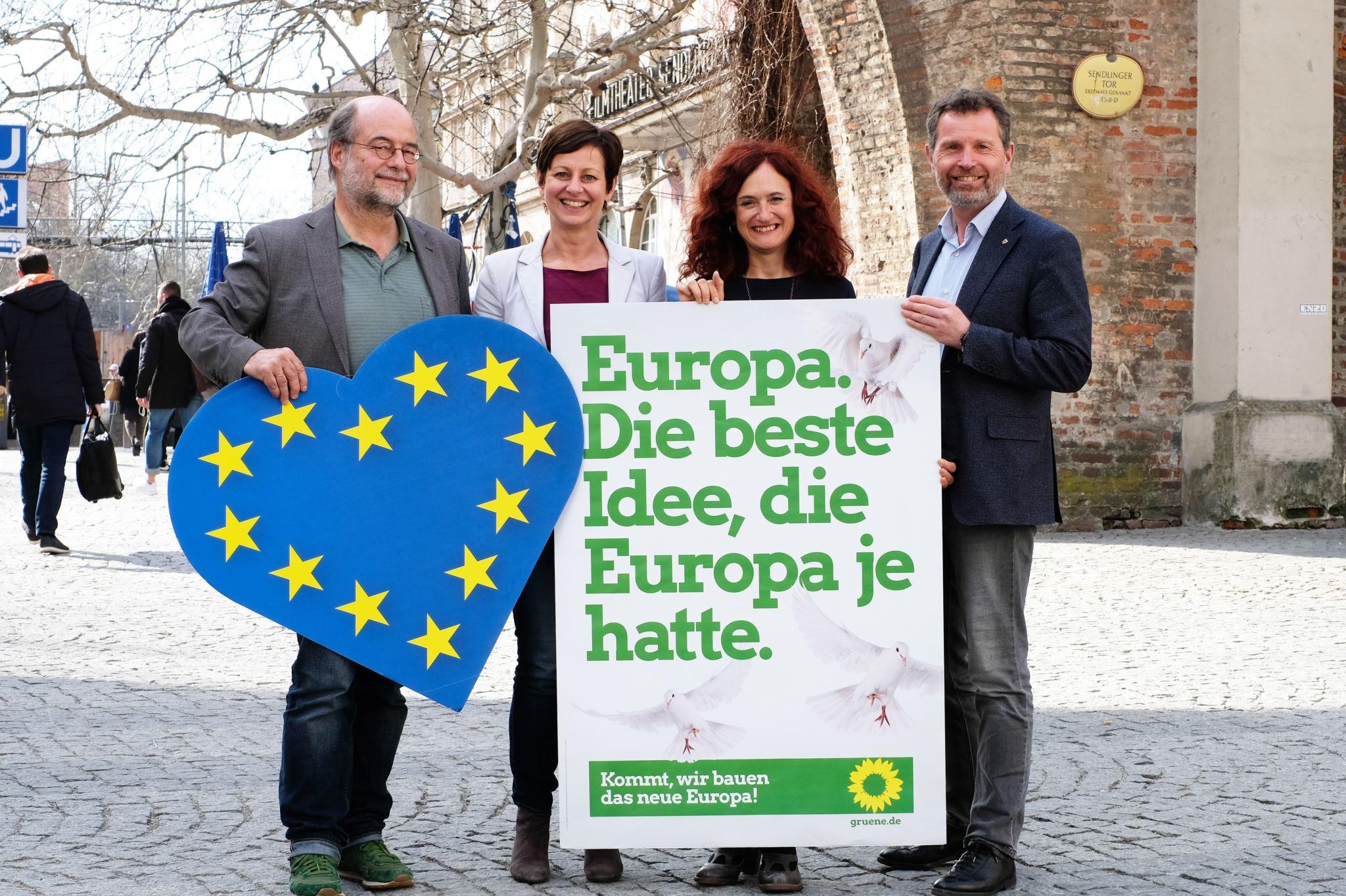 Bayerisch-Südtiroler Grünen-Gipfel fordert Alpentransitbörse