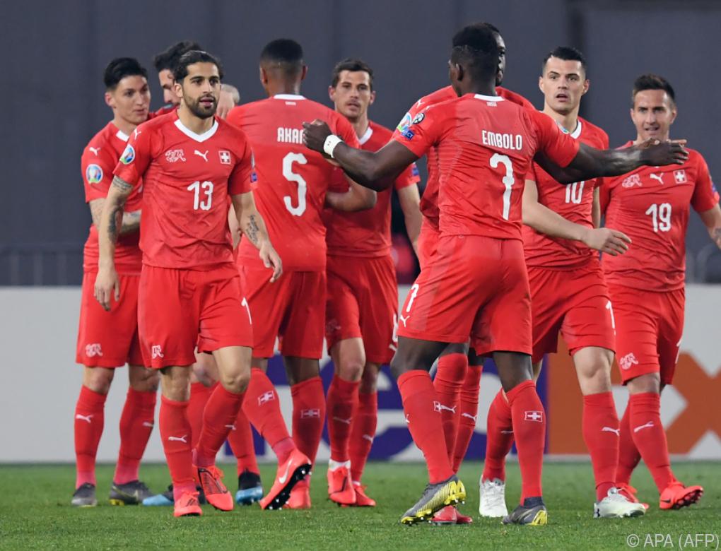 Schweiz startete mit Sieg in Georgien in EM-Qualifikation