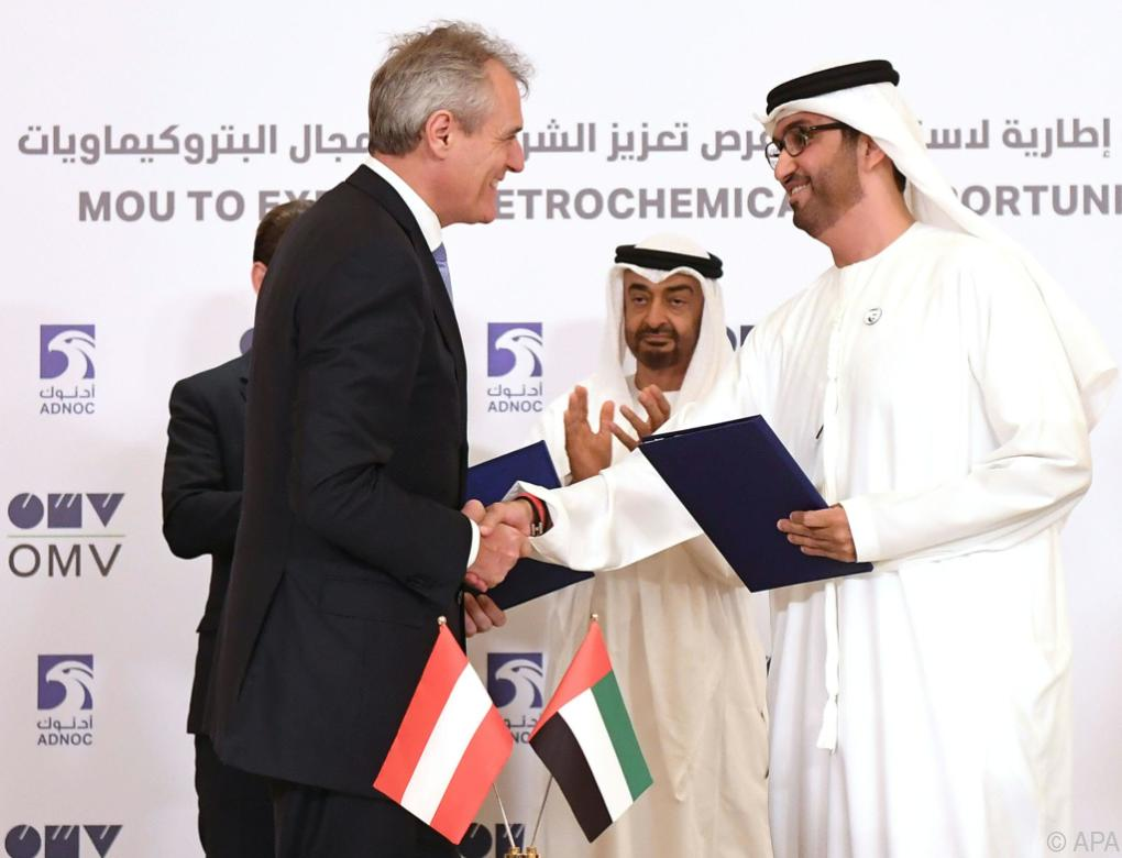 OMV und Abu Dhabi-Ölgesellschaft wollen kooperieren