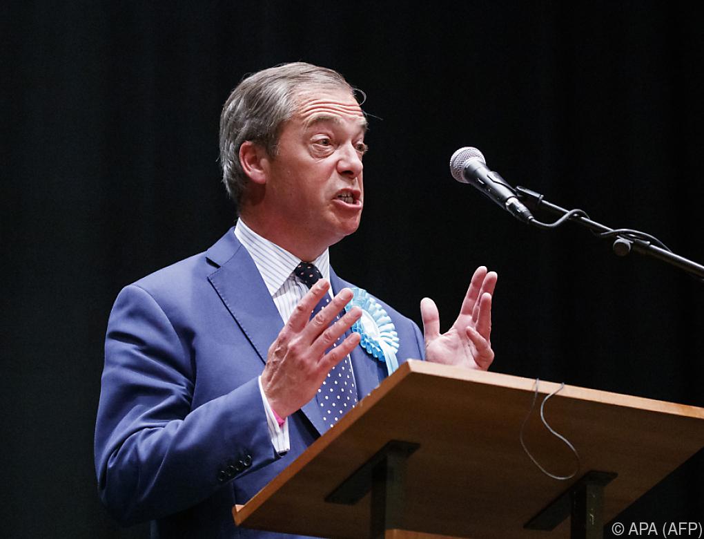 """Farage will auch britische Politik """"fundamental ändern"""""""