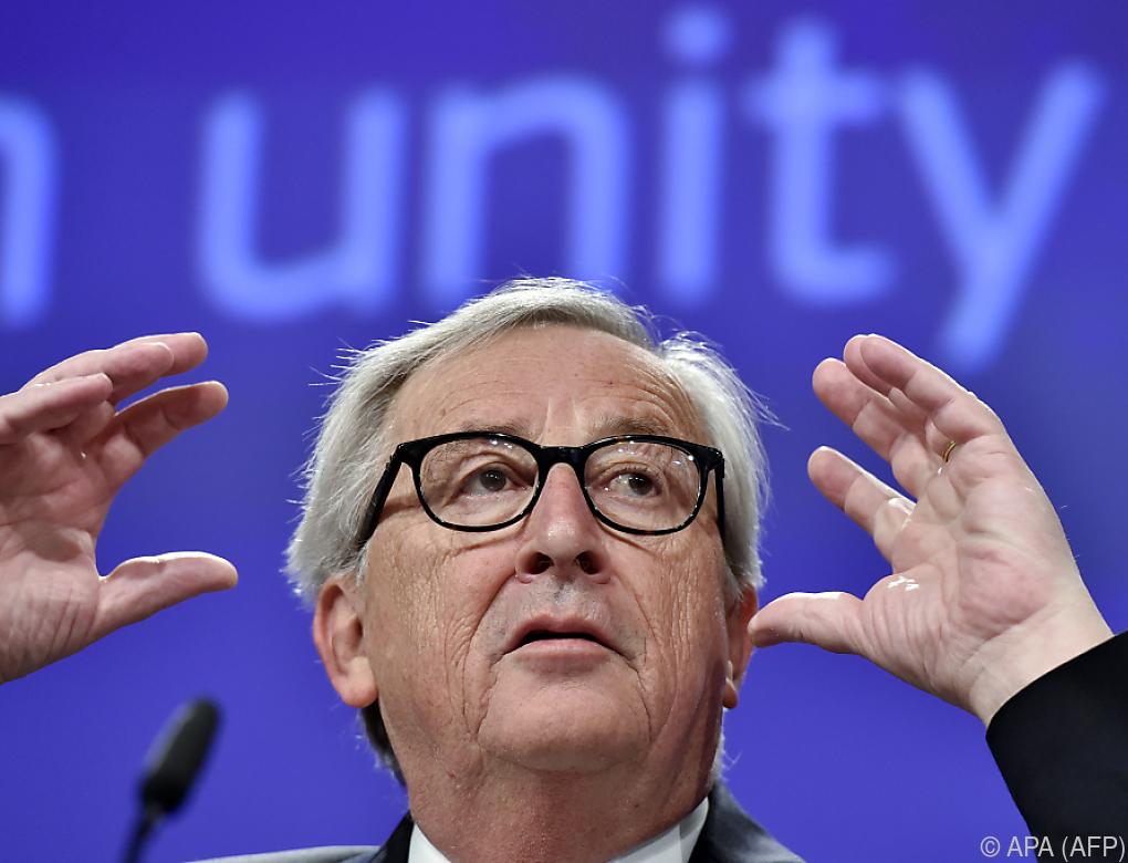 """Juncker-Kritik an Kurz-Aussagen zu """"Regelungswahnsinn"""""""