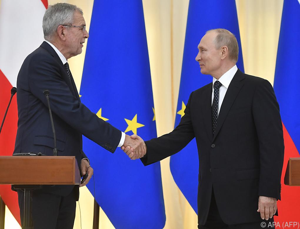 """Putin """"offen"""" für Gipfel mit Trump – auch in Wien"""