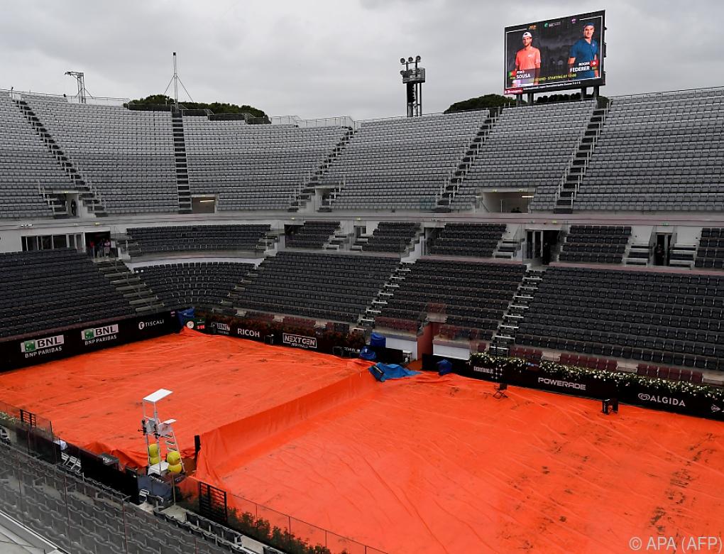 Thiem-Match in Rom auf Donnerstag verschoben