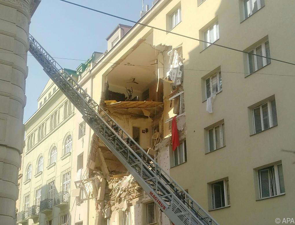 Mehrere Schwerverletzte nach Gasexplosion in Wien-Wieden