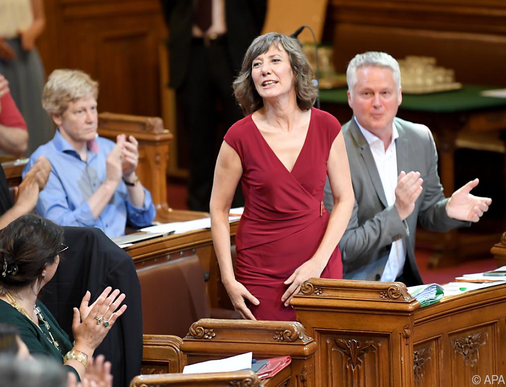 Birgit Hebein ist Wiener Vizebürgermeisterin und Stadträtin