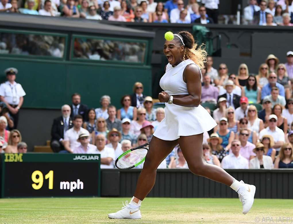 Serena Williams nimmt nächsten Anlauf auf Grand-Slam-Rekord