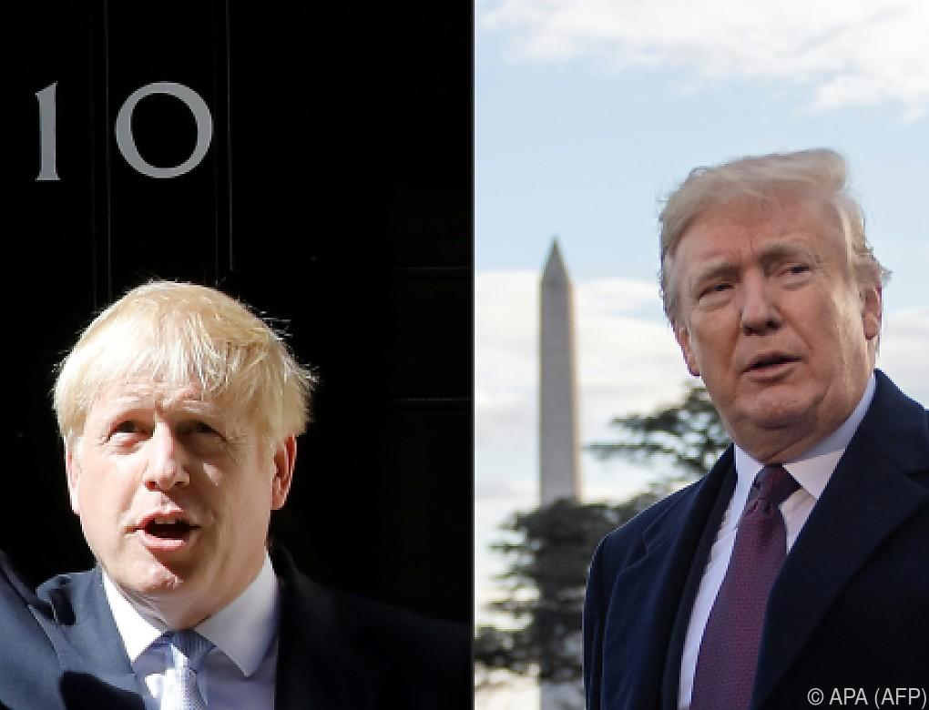 USA und Briten beraten über Handelsabkommen nach Brexit